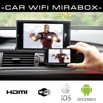 Car Wi-Fi HDMI Wireless Airplay Phone Screen Mirroring Box for iPhone & Android