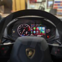 Wireless Apple CarPlay Android Auto Screen Mirroring Interface for Lamborghini Huracan 2014 - 2019