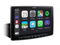 Alpine INE F904D Halo Single DIN 9-inch Touch Screen, built-in Navigation, DAB+, HDMI and Apple CarPlay and Android Auto