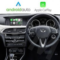 Wireless Apple CarPlay Android Auto Interface for Infiniti Q30 2016 Onwards with  7