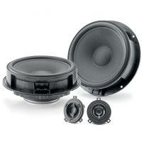Focal IS VW 165 2-way Component Speaker Kit Audio Upgrade for Volkswagen Vehicles