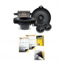 Focal ISBMW100L BMW 2 Way Component Kit + Free Stinger Sound Deadening Sheets