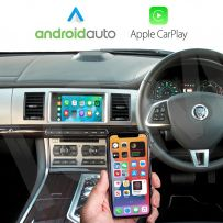 Jaguar XF 2011-2015Wireless Apple CarPlay and Android Auto Interface