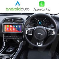 Jaguar XE, XF, F-Pace 2015-2018 Wireless Apple CarPlay Android Auto Interface