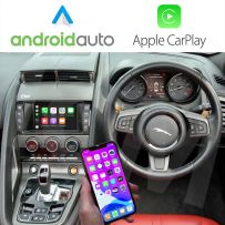 Wireless Apple CarPlay and Android Auto Interface for Jaguar F-Type 2015-2018