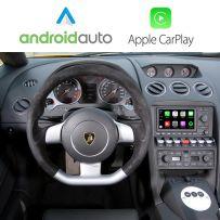 Wireless Apple CarPlay Android Auto Interface for Lamborghini Gallardo 2003 Onwards RNS-E 16:9 DVD