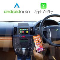 Land Rover Freelander 2 LR2 2006-2012 Android Navigation with Apple CarPlay/Android Auto