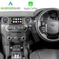 Wireless Apple CarPlay And Android Auto Interface For Land Rover Range Rover Discovery 4 2012-2016