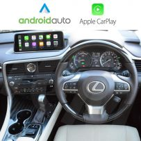 Wireless Apple CarPlay Android Auto Interface for Lexus RX 2016-2019, with Screen Mirroring