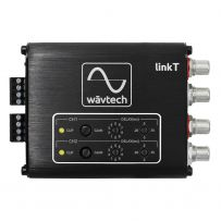 WavTech LinkT 2 Channel Line Remote Output Hi to Low RCA & DSP Time Alignment