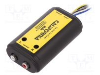 Adjustable 2 Ch High to Low Car Speaker to RCA Line Car Amp Converter with Disturbance Filter