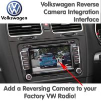 VW Volkswagen Reverse Parking Camera Interface For RNS510 RNS810 RNS315 RCD510