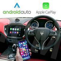 Maserati CarPlay Android Auto