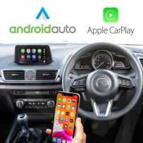 Wireless Apple CarPlay Android Auto for Mazda Vehicles MZD Connect system