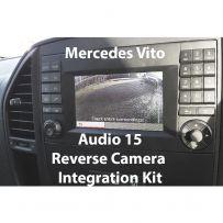 Mercedes Vito Audio 15 Reverse & Front Camera Integration Kit