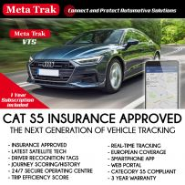 Meta Trak Cat S5 VTS Insurance Approved Vehicle Live GPS Tracker Tracking System