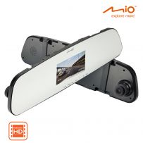 Mio MiVue HD In-Car Rearview Mirror Monitor Dash Cam Recorder Accident Camera