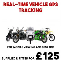 Motorcycle Tracker Bike Mopeds Scooter Real Time Tracking Device GPS Live System