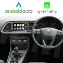 Wireless Apple CarPlay Android Auto for Seat Vehicles with Media system Navi & Plus (6.5