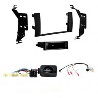 Double/Single Din Facia Fitting Kit With Steering control for Toyota Prius (04-09)