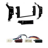 Double/Single Din Facia Fitting Kit With ISO Lead for Toyota Prius (04-09)
