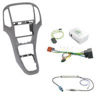 Vauxhall Astra J Car Stereo Fitting Kit Fascia Panel w/ Steering Controls