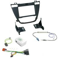 Vauxhall Insignia Car Stereo Fascia Fitting Kit With Steering Control Interface