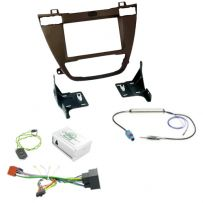 Vauxhall Insignia Car Stereo Fascia Fitting Kit With Steering Control Adaptor