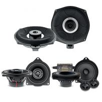 Car Audio Upgrade System with 2 Way Component Kit, Coaxial Speaker and Underseat Subwoofer forBMW 1, 2, 3, 4, 5, 6, 7, X1, X2, X3, X5, X6 X7, Z4