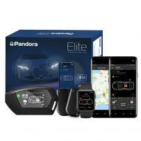 Pandora Elite V2 Pager Car Alarm with Immobilisation, Shock, Tilt, Motion, Internal Sensor, GPS Tracking & Remote Engine Start