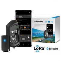 Pandora Light Pro V2 Pager Car Alarm with Alert Notifications, Shock, Tilt Sensor, Bluetooth Phone Control & App