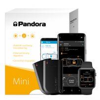 Pandora Mini BT V3 Insurance Approved Car Alarm System with Shock, Microwave & Tilt Motion Sensor, Immobiliser Tag and SmartPhone App