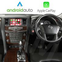 Wireless Apple CarPlay Android Auto Interface for Nissan Patrol 2018 Onwards