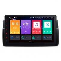 PB9046BL Android 10 Octa Core 4GB RAM + 32GB ROM 9'' Multimedia Car Stereo with GPS Custom Fit for BMW / Rover / MG