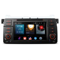 PBX7046B Android 10 Octa Core 4GB RAM + 64GB ROM 7'' Car DVD Player Multimedia GPS System Custom Fit for BMW E46 / Rover / MG