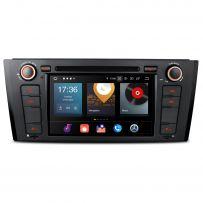PBX7081B Android 10 Octa Core 4GB RAM + 64GB ROM 7'' Car DVD Player Multimedia GPS System Custom Fit for BMW E81 / E82 / E88