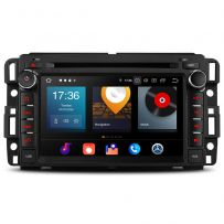 PBX70JCC Car DVD Player 7'' Multimedia GPS System Android 10 Custom Fit for Chevrolet, Buick, GMC, HUMMER