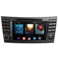 PBX70M211 Car Stereo 7'' DVD Player Multimedia GPS System Android 10 Custom Fit for Mercedes-Benz E-Class W211, CLS Class W219