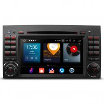 PBX70M245 Car DVD Player 7'' Android 10 Stereo GPS System Custom Fit for Mercedes-Benz B-Class W245, A-Class W169, Viano & Vito W639, Sprinter W906