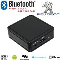 Peugeot Car Bluetooth Music Interface Aux Adaptor For iPhone Android Smartphones