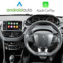 Wireless Apple CarPlay Android Auto for Peugeot Vehicles with Touch infotainment system (SMEG & SMEG+)