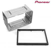 Genuine Pioneer Stereo Original Double Din Cage with Trim Panel