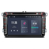 PQ80UNV 8'' Android 10 Car DVD Player GPS Navigation Built-in Qualcomm Bluetooth 5.0 with aptX feature for VW/Skoda/Seat