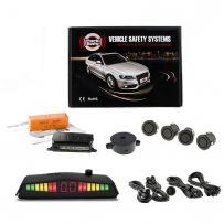 ParkSafe 4 Eye Sensors Front Car Parking Sensor Kit With Display & Buzzer
