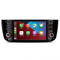 PSA60GPFL 6.2 inch Android 10 Car Stereo Multimedia System with Built-in CarPlay Custom Fit for Fiat