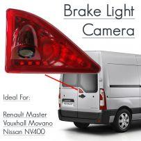 Rear Door Brake Light Parking Van Reverse Camera For Renault Master Movano NV400