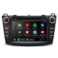 PSD80NM3M 8'' Android 10 HD Screen Multifunctional Car DVD Player with Full RCA Output Built-in DSP Custom Fit for Mazda 3