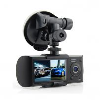 Twin HD DVR In Car Vehicle Video Recorder And Camera For Cars Vans Minicabs Taxi
