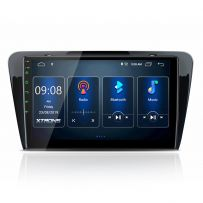 PST10CTS Skoda Octavia 10.1'' Android 10 IPS Screen Navigation Multimedia Player Built-in DSP