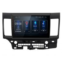 PST10LSM 10.1'' Android 10 IPS Screen Navigation Multimedia Player Custom Fit for Mitsubishi Lancer (2007-2017)